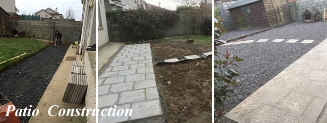 Patio Construction Waterford